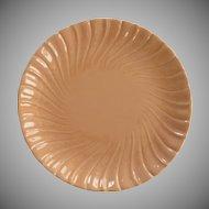 Coronado Franciscan Glossy Coral Chop Plate
