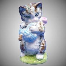 "Beatrix Potter ""Miss Moppet"" Kitten Cat Beswick Figurine"