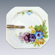 Pretty Occupied Japan Trinket Hand Painted Dish