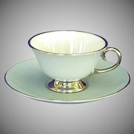 China Brookmere Flintridge Footed Cup & Saucer