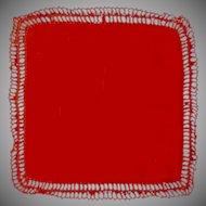 Lipstick Red Handkerchief Hanky Hankie
