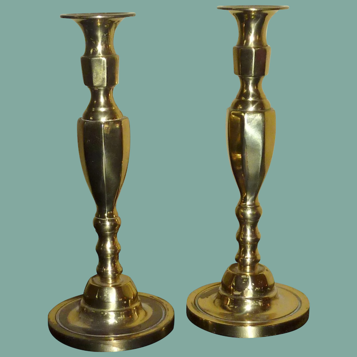 Br Candlesticks Made In England