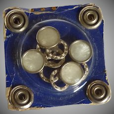 Pearl Prong Snap Button in Original Package
