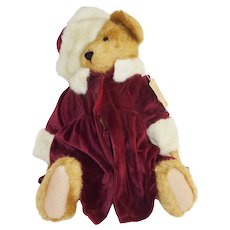 Jointed Boyd's Bear Burgundy Maroon Pants Coat