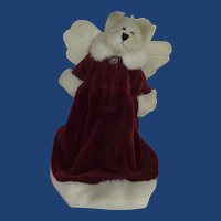 Boyds Bear Angel Christmas Tree Topper