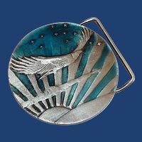 Bergamont American Eagle Stars and Stripes Belt Buckle