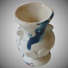 Small Nemadji Style Vase Urn