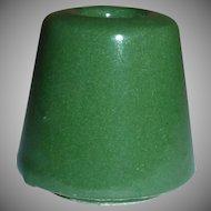 Vintage Green Cigarette Butt Snuffer