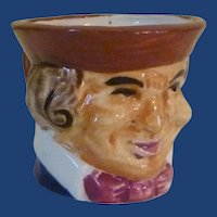 Ceramic Small Occupied Japan Toby Pitcher Cup