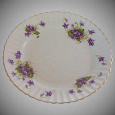 Radford Violet Scalloped Salad Plate
