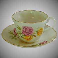 Vintage Royal Imperial Bone China Tea Cup