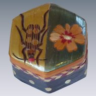 Hand Crafted Chinese Wood Lacquered Box