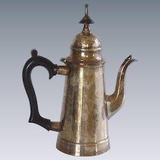Silver Plate Café au Lait Pot / Teapot Belgium