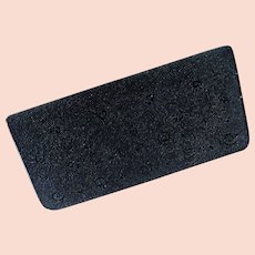Lucienne Offenthal  Black Clutch Evening Bag