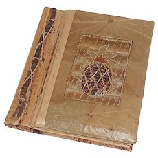 Unusual Hand Crafted Small Picture Photo Album