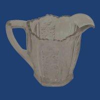 Glass Small Cream / Milk Pitcher Jug