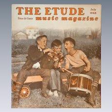 The Etude Music Magazine July 1946
