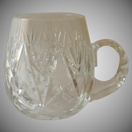 Clear Crystal Beer Stein Mugs Sophisticated Look