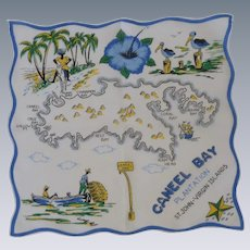 Caneel Bay St. John Virgin Islands Handkerchief