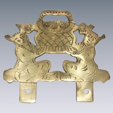 Chinese Asian Picture Frame Topper Hanger Hardware
