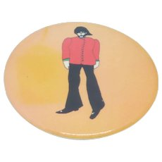 George Harrison Beatles Primrose Confection Pinback Button