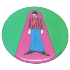 Ringo Starr Beatles Primrose Confection Pinback Button
