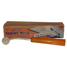 Vintage Traum Tracing Wheel with Box 1940's