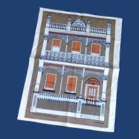 Linen Australian Souvenir Tea Towel