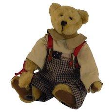 Bugle Player Ross G. Jodibear Boyds Bear
