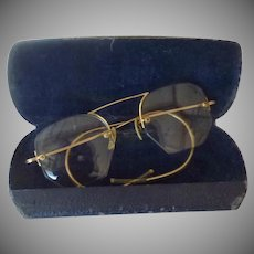 Old Vintage Eye Glasses GF Rimless