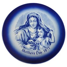 Mother's  Day Collector Plate 1971