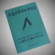 Tap Dancing Fundamentals and Routines Book  1930
