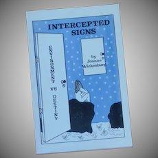 Astrology Intercepted Signs by Joanne Wickenburg Book