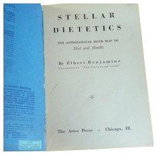 Stellar Dietetics Astrology Book 1942