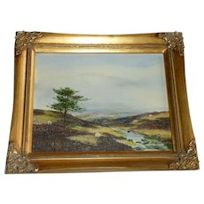 Original Oil Painting Brian Richardson North York Moors