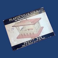 Plasticville Frosty Bar Complete unglued with Original Box
