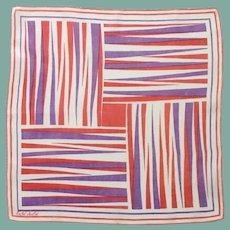 Designer Faith Austin Handkerchief Hanky