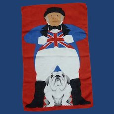 John Bull and Bulldog Ireland Linen Hand Towel