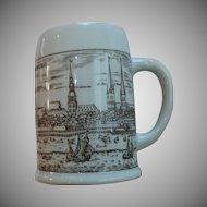 Hamburg Beer Stein Mug Ozean/ Stinnes Lines