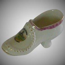 Parliament Buildings in Winnipeg Canada Porcelain Slipper Shoe
