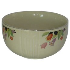 Crocus Flower Small Mixing Bowl Hall's Kitchenware