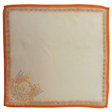 Asian Sunday Silk Handkerchief Hanky