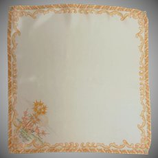 Asian Monday Silk Handkerchief Hanky
