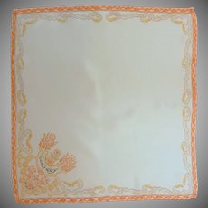Asian Tuesday Silk Handkerchief Hanky