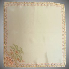 Asian Wednesday Silk Handkerchief Hanky