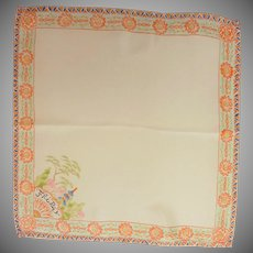 Asian Friday Silk Handkerchief Hanky