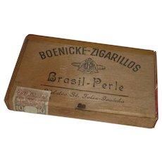 Brasil – Perle  Cigarette Wood Box