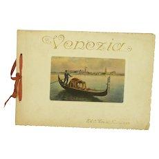 Venice 1925 Craldi A. Milano Picture Booklet