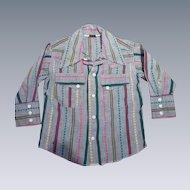 1950 Esskay Western Cowboy  Boy Shirt
