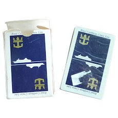 Royal Caribbean Cruise Lines Anchor Logo Playing Cards